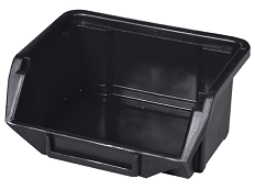 Ecobox mini czarny 110x90x50mm