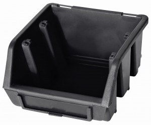Ergobox 1 czarny 116x112x75mm